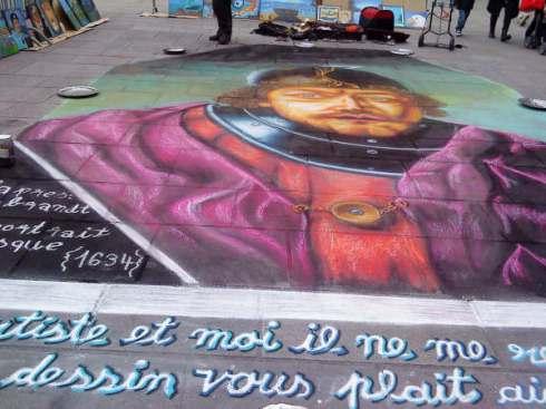 pavement-art