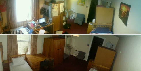 room2 before and after