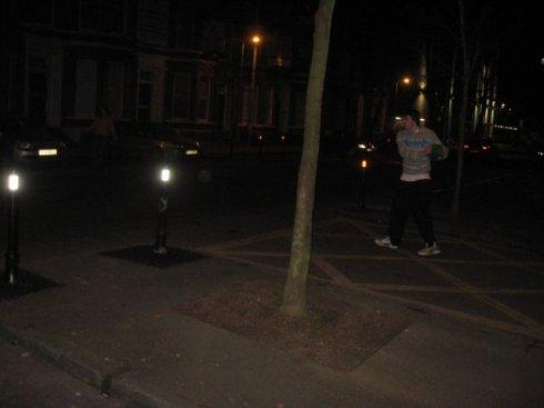 street frisbee