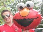 Ali and Elmo Balloon
